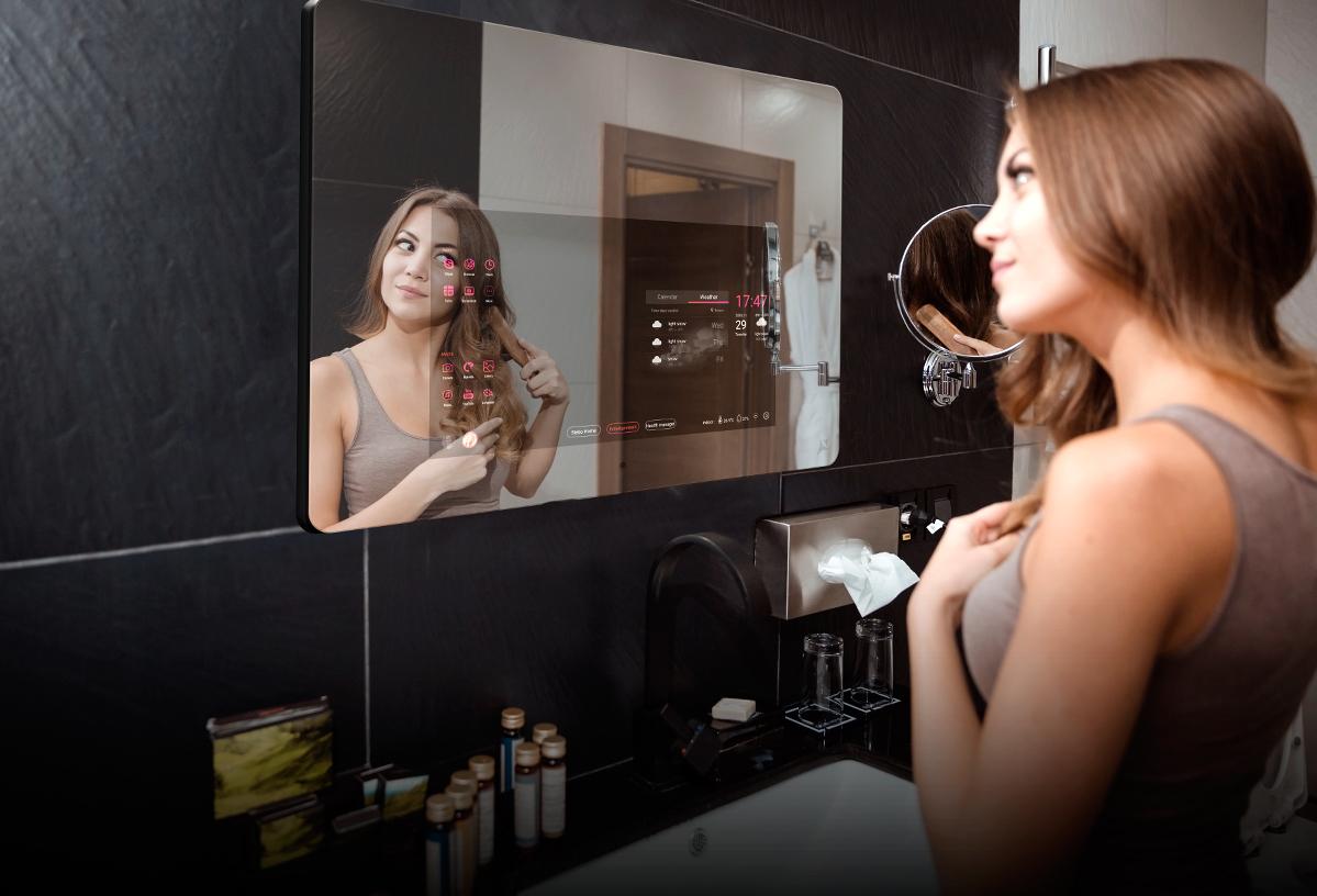 Descubre los espejos inteligentes para el baño