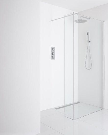 Duchate las mejores mamparas de ducha para maximizar el - Platos de ducha pequenos ...